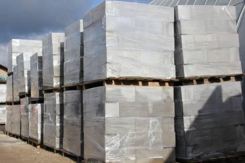 Готовые для использования в строительстве блоки