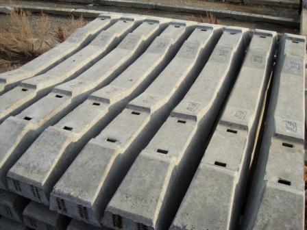 Использование железобетонных шпал плиты перекрытия каналов пто
