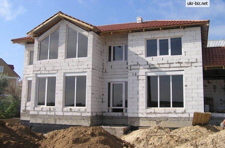 Дом из газоблоков построить
