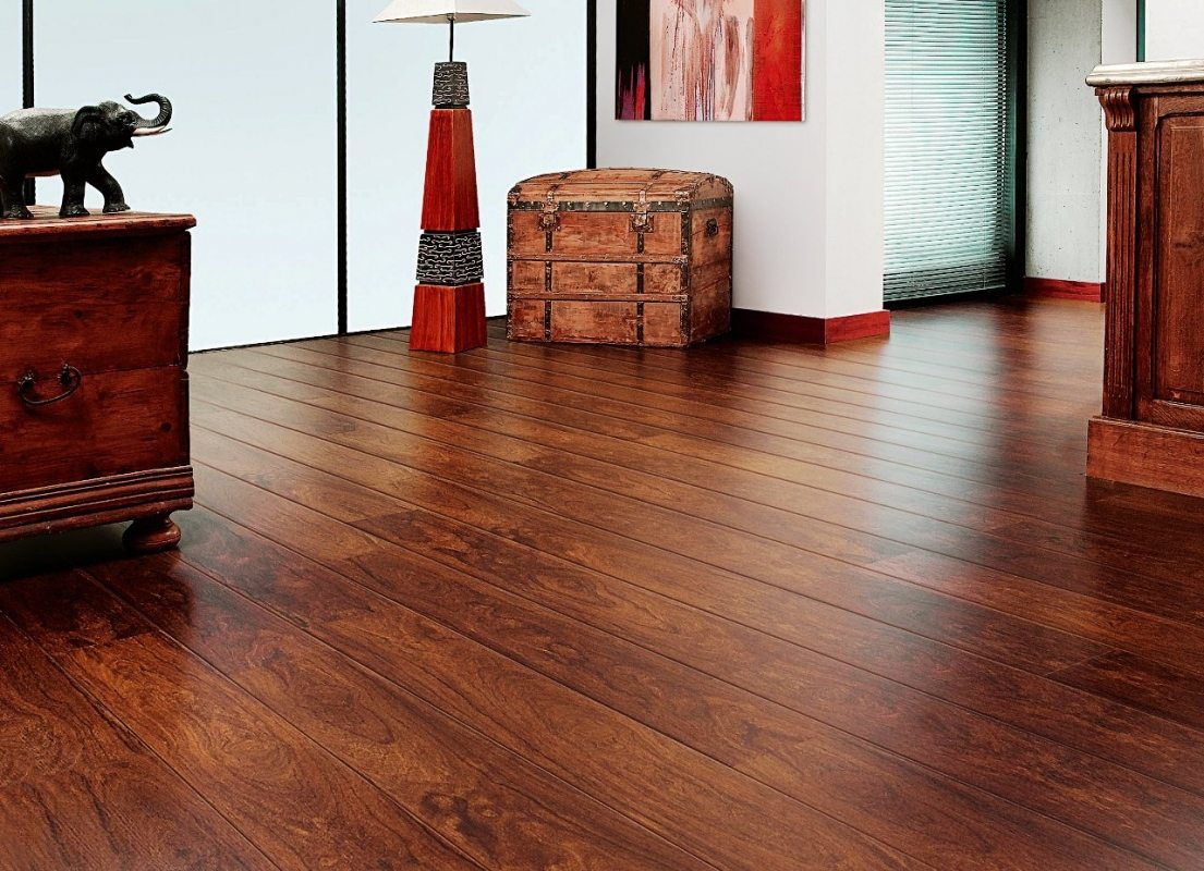 can you steam laminate wood floors
