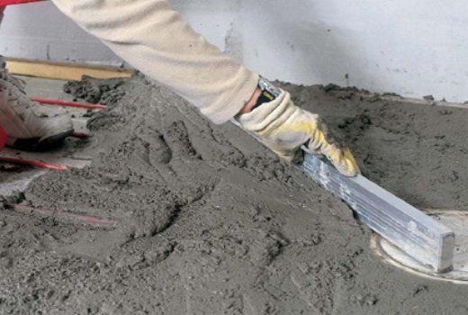 Готовый раствор практически ничем не отличается от обычного бетона