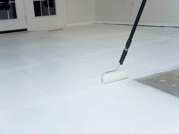 Грунтовка бетона чтобы не пылил