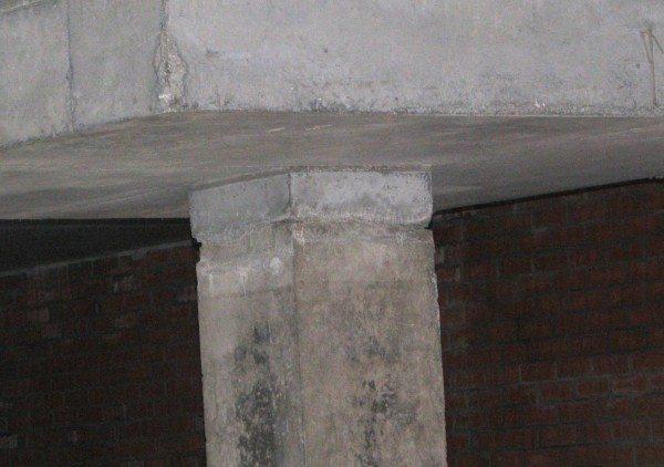 Холодный шов при бетонировании колонны