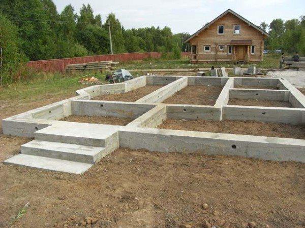 Использование бетона в частном строительстве.
