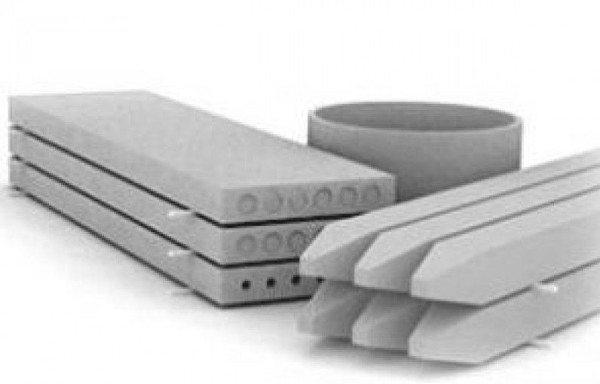 Изделия из тяжелых марок бетона