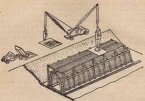 Как происходит адресная подача бетонной смеси автокраном