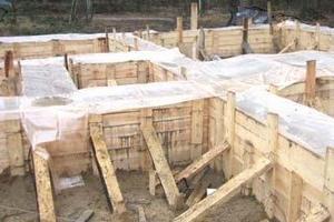 Как происходит сушка бетона после заливки