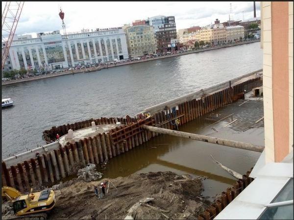 Как производится бетонирование в воде
