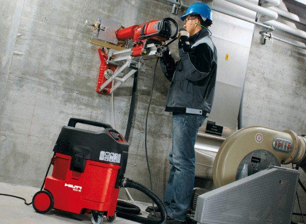Как сделать отверстие в бетоне