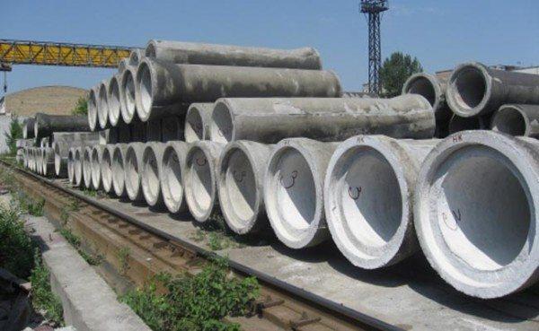 Канализационная бетонная труба 500 мм в диаметре