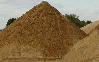 Карьерный песок для создания бетонных изделий