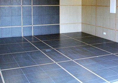 Керамическое покрытие для бетонного пола в гараже
