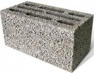 Керамзитобетонный блок скц для перегородок и несущих стен