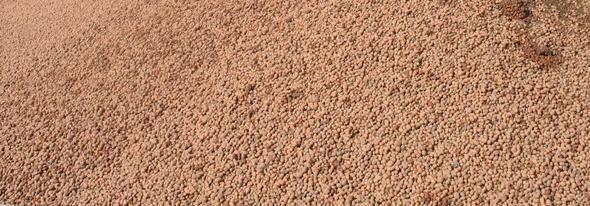 Керамзитовый песок.