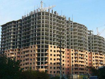 Комплекс жилых зданий, возведенных монолитным способом