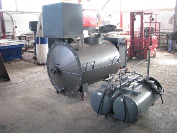 Комплект оборудования для производства пеноблоков.