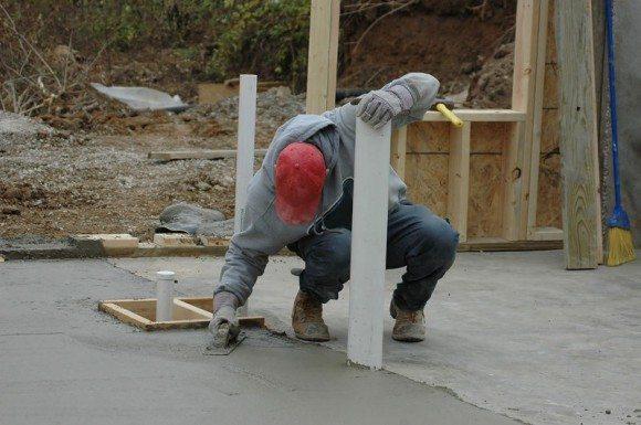 Контролирование процесса схватывания бетонной массы