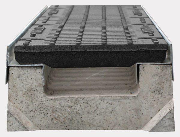 «Лоток в разрезе», именно так он будет установлен в дорожном полотне