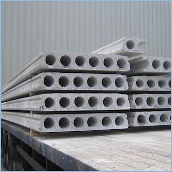 Любительское фото изделий из бетона, которые чаще всего используют для создания перекрытий между этажами
