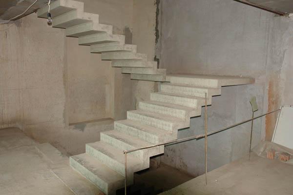 Маршевые монолитные бетонные