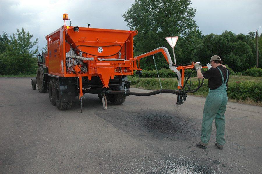 Руководство по эксплуатации машины для ямочного ремонта р-310м