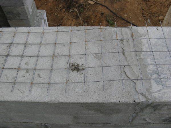 Металлическая кладочная сетка для газобетона