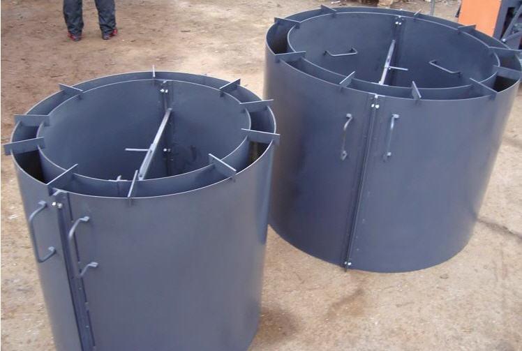 Изготовление форм для жби колец в новосибирске