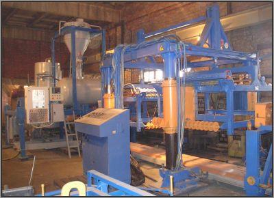 Мини завод для производства газобетона занимает небольшую площадь