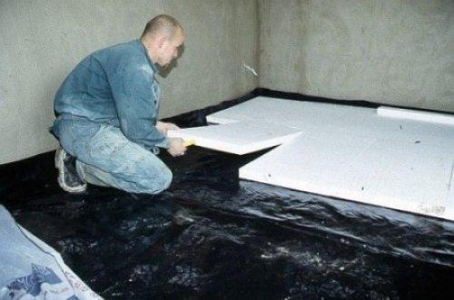Монтаж экструдированного пенополистирола в качестве утеплителя