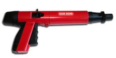 Монтажные пистолеты по бетону данного типа производятся и отечественными, и зарубежными изготовителями