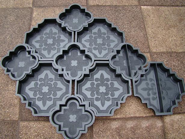Изготовление форм для тротуарной плитки своими руками
