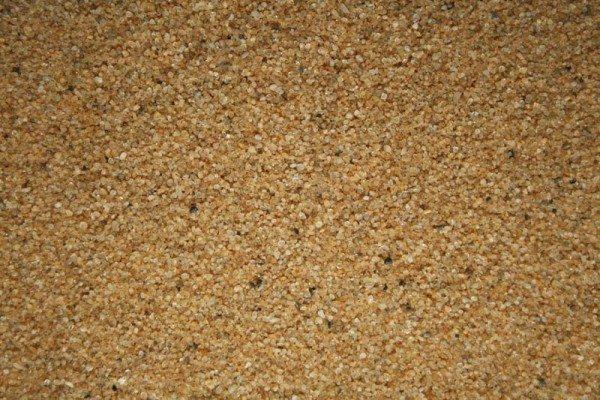 На фото - кварцевый песок
