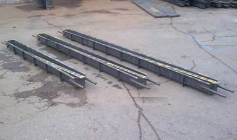 На фото - пример производственной опалубки разной длинны
