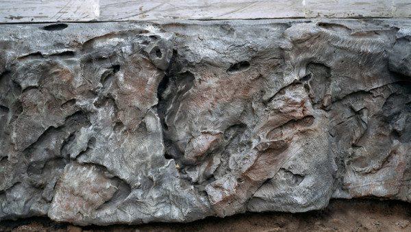 На фото - структура декоративного бетона