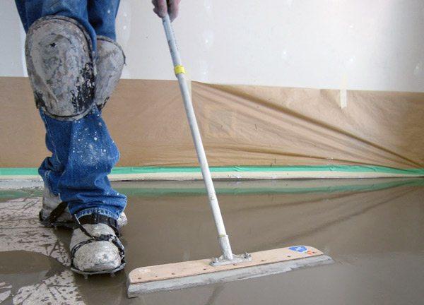 Чем разгладить бетон как замесить правильно керамзитобетон