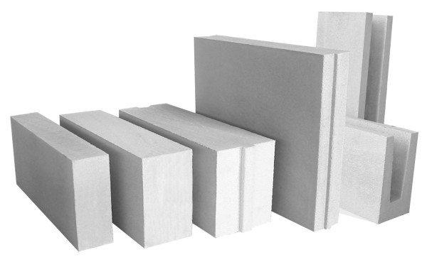 На фото – виды блоков из газобетона