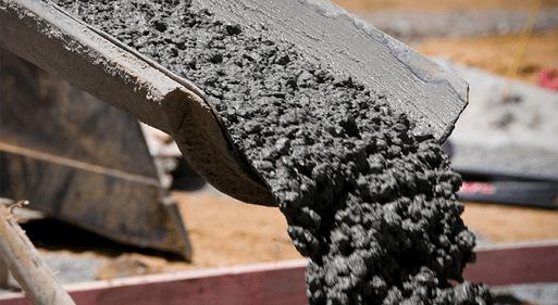 На фото демонстрируется строительная смесь на базе цемента.