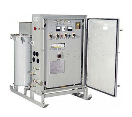На фото: понижающий трансформатор – важная часть системы