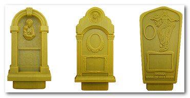 На рынке представлено множество самых различных форм для изготовления памятников своими руками