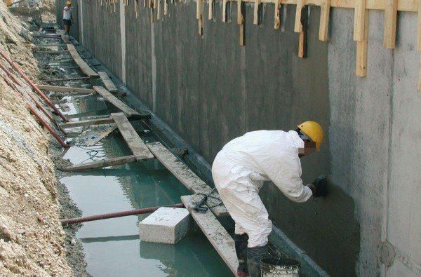 Нанесение покрытия, снижающего водопоглощение