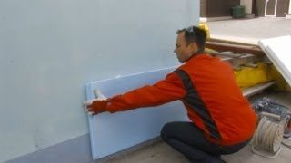Наружное утепление бетонных стен