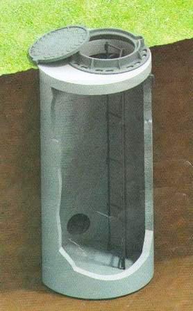 Наружные железобетонные канализационные колодцы