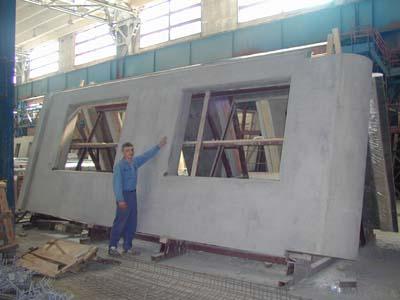Наружные железобетонные стеновые панели, которые специально разрабатывались для возведения домов
