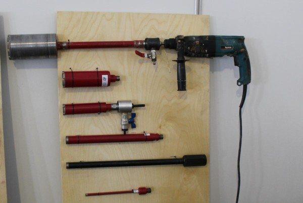 Насадки, приспособленные для эксплуатации с обычным перфоратором