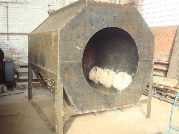 Не стоит путать бетонные изделия для печей с керамическими, поскольку они имеют разный процесс изготовления и свойства