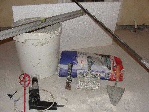 Некоторые инструменты для работы.