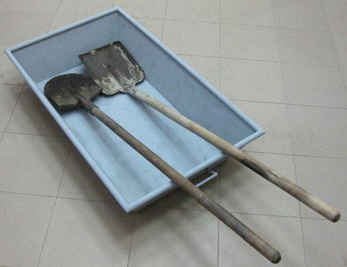 Необходимые инструменты для замешивания цементного раствора