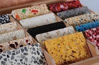 Несколько вариантов мозаичных плит
