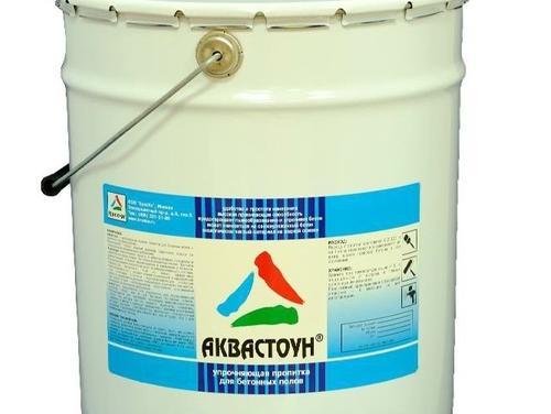 Обеспыливающая пропитка для бетона АКВАСТОУН (силикатный состав)