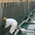 Обмазочная гидроизоляция бетона